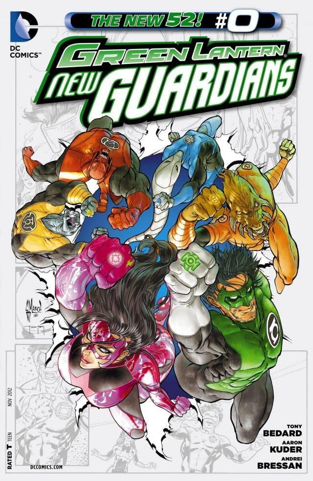 Green Lantern: New Guardians (2011-2015) #0