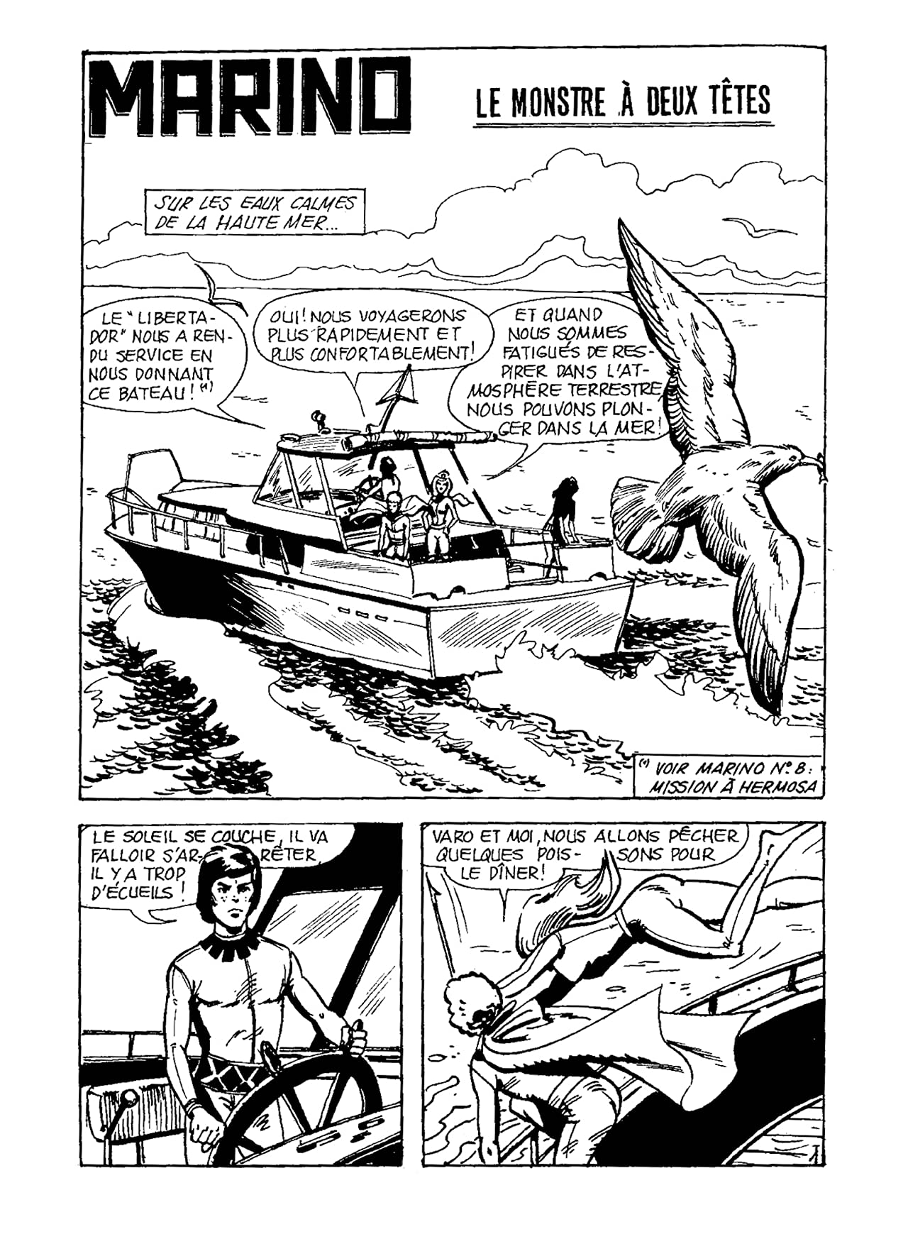 MARINO Vol. 9: Le Monstre à deux têtes