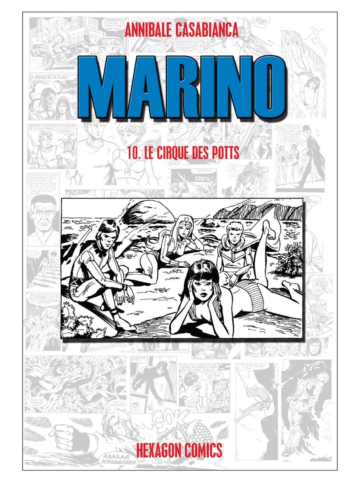 MARINO Vol. 10: Le Cirque des Potts
