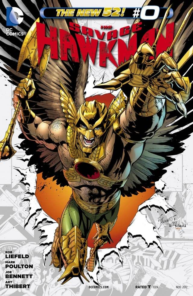 The Savage Hawkman (2011-2013) #0