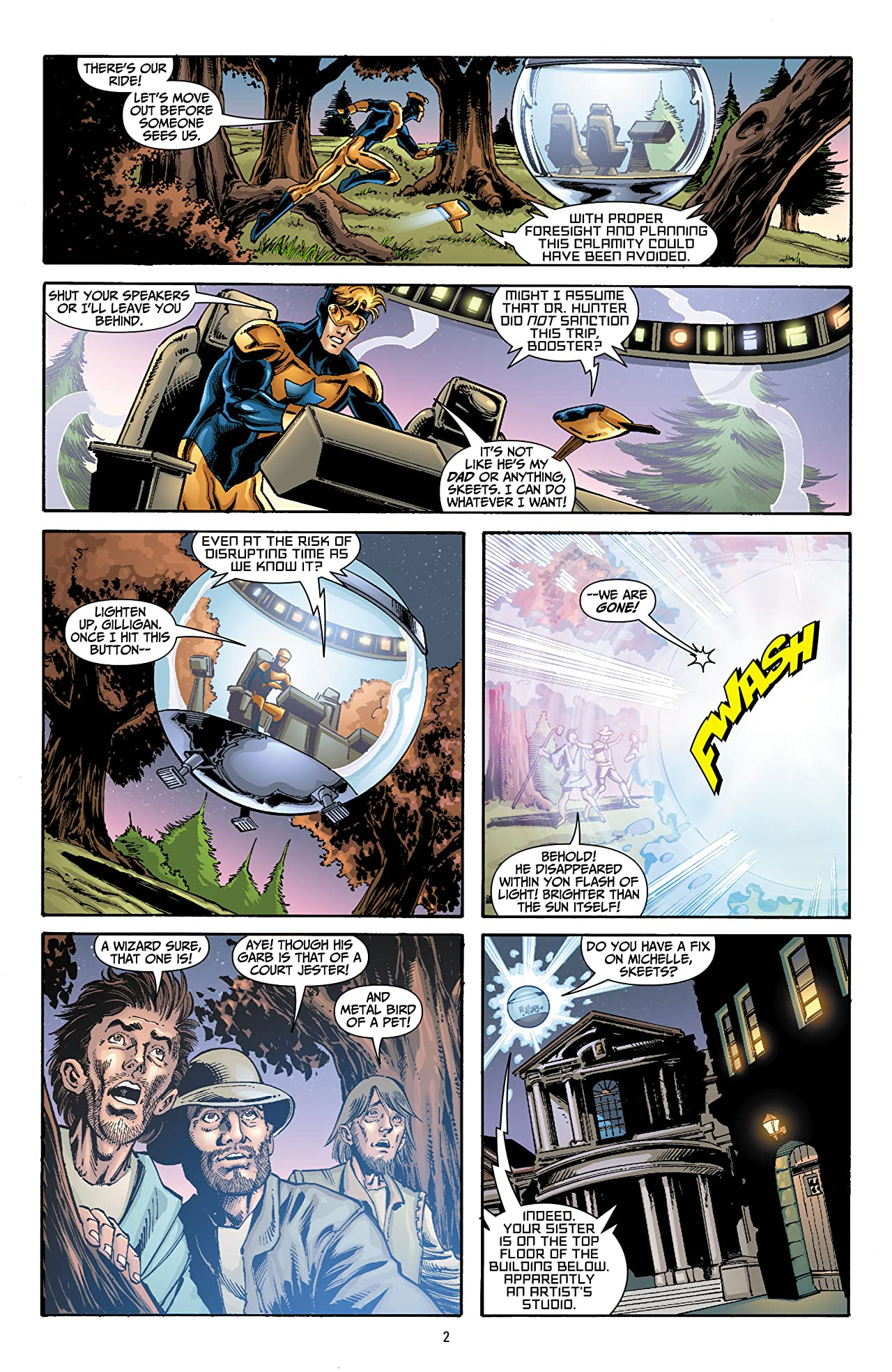 Booster Gold (2007-2011) #15