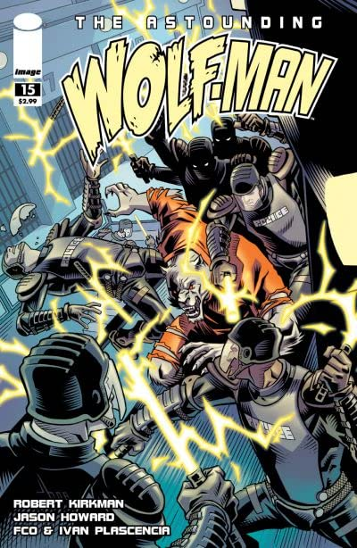 The Astounding Wolf-Man #15