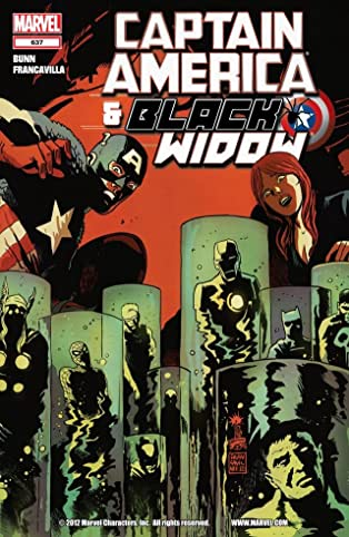 Captain America and Black Widow #637