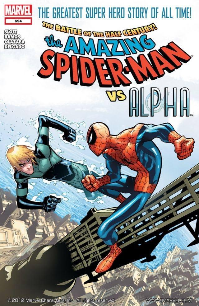 Amazing Spider-Man (1999-2013) #694