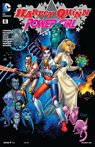 Harley Quinn and Power Girl (2015) #6