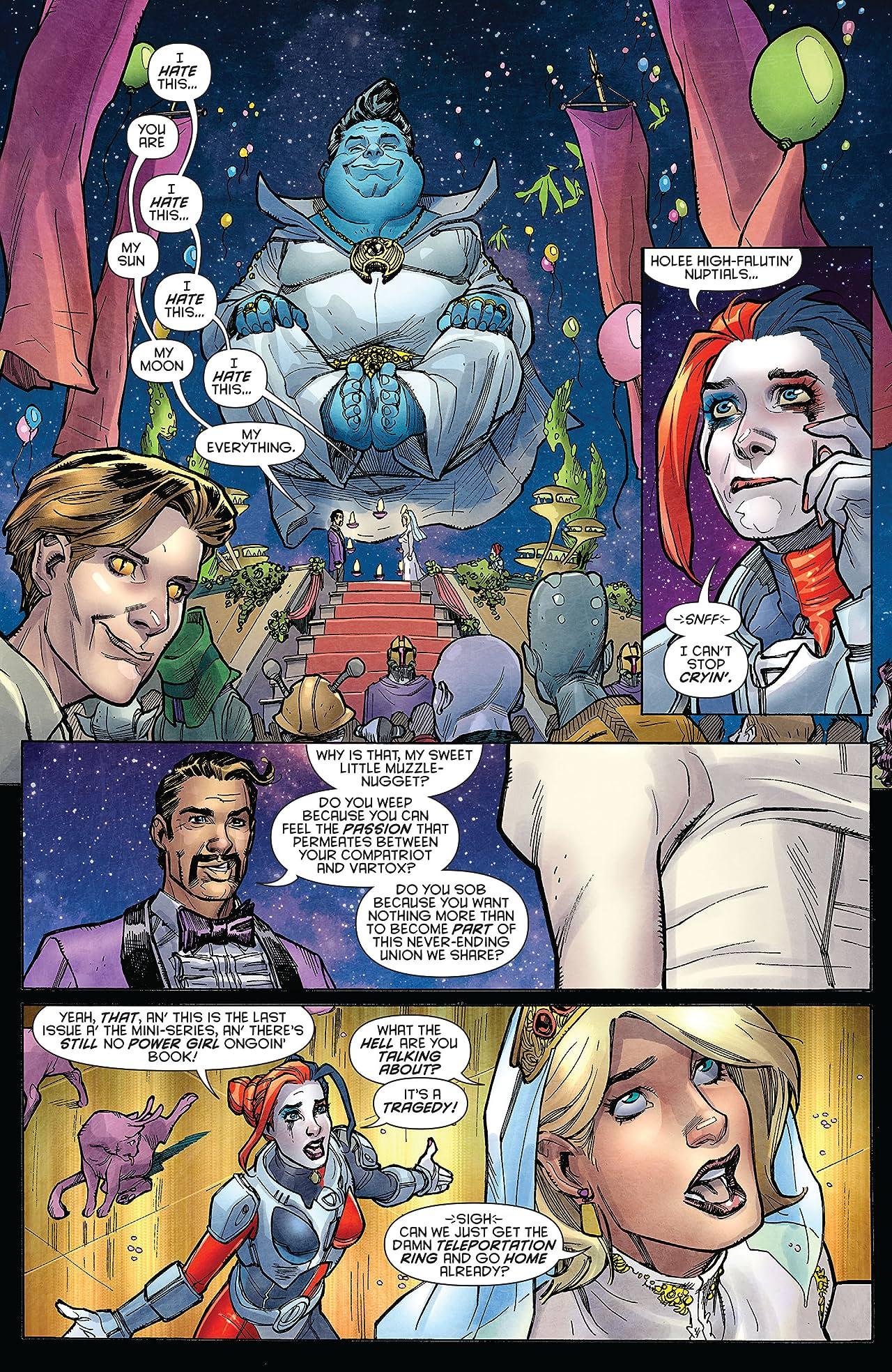 Harley Quinn and Power Girl (2015) #6