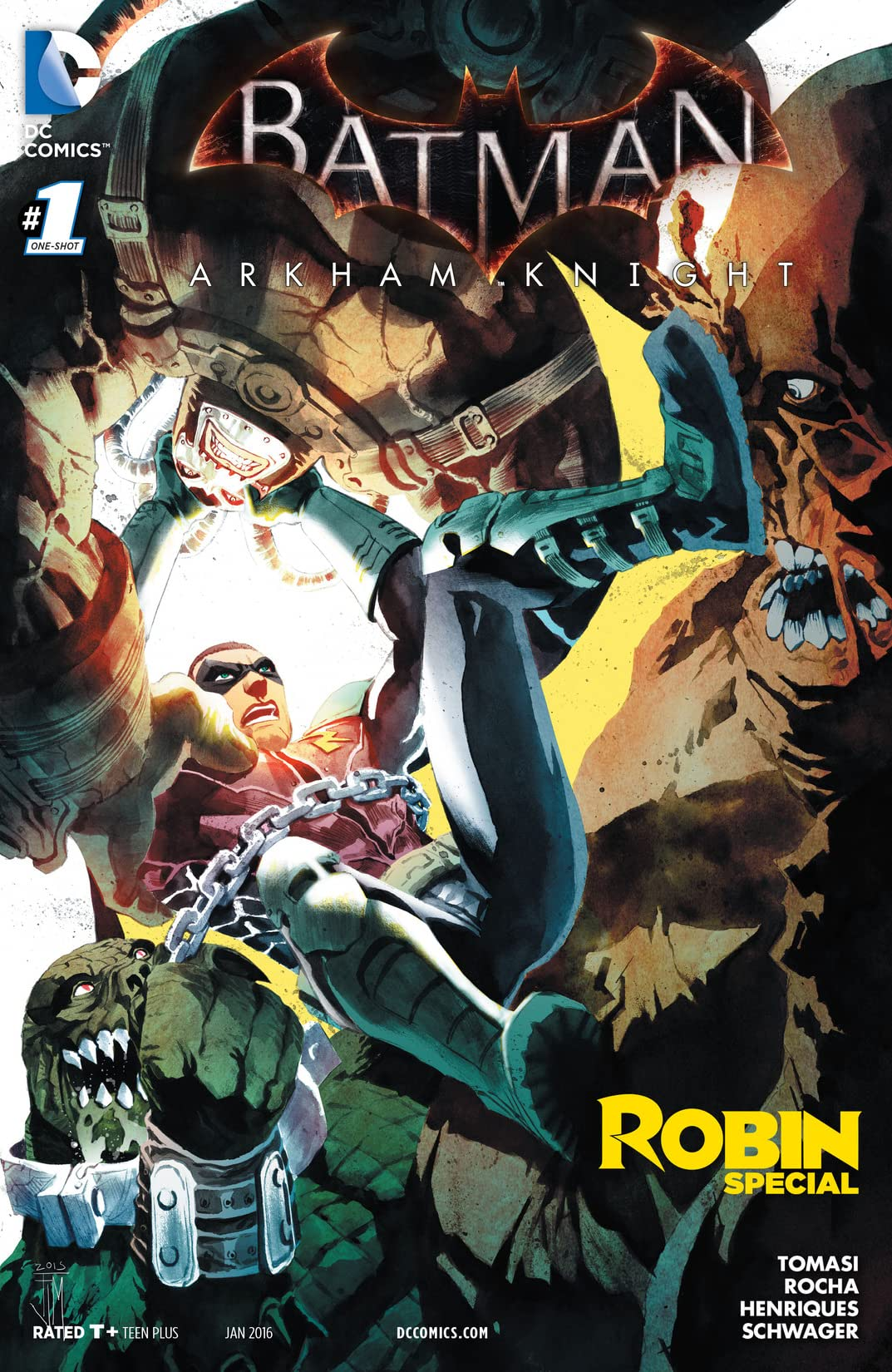 Batman: Arkham Knight: Robin (2015-2016) #1