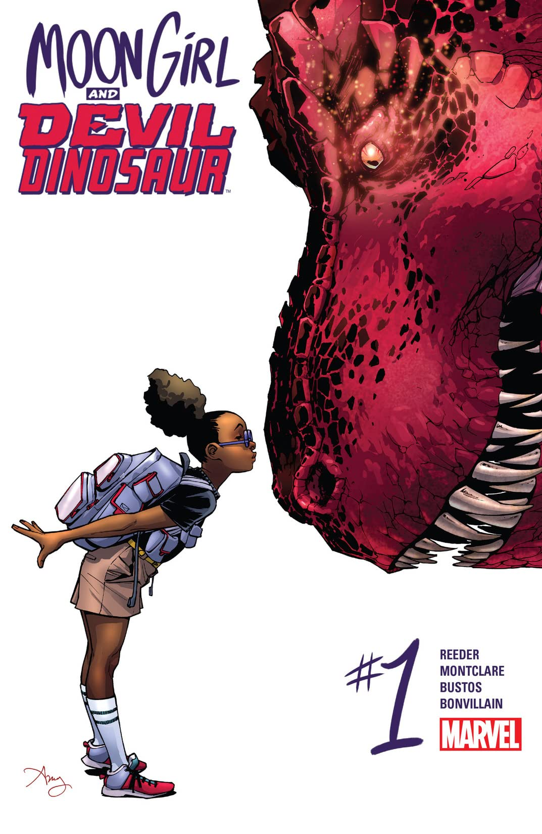 Moon Girl and Devil Dinosaur (2015-) No.1