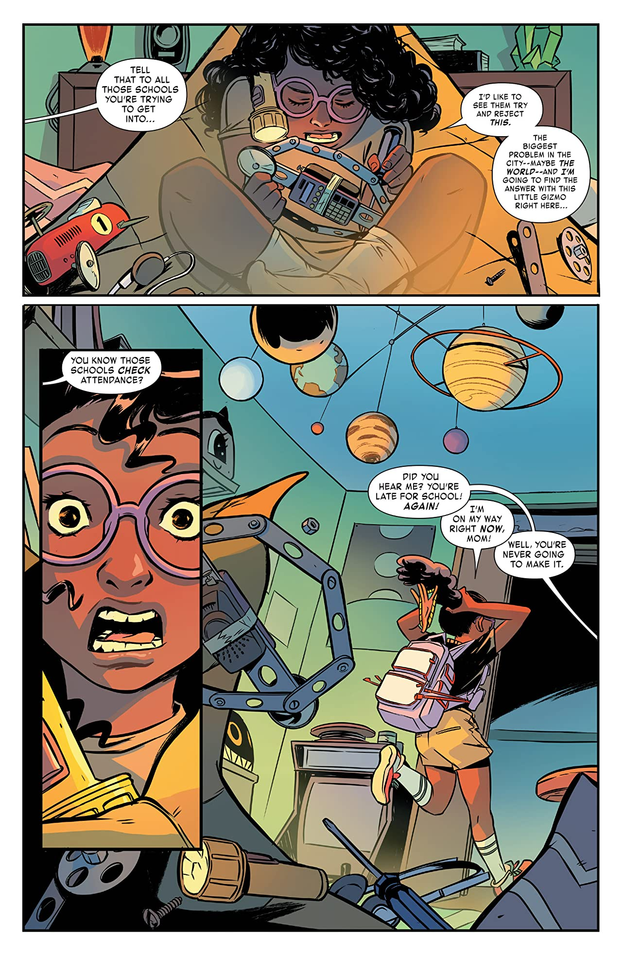 Moon Girl and Devil Dinosaur (2015-) #1