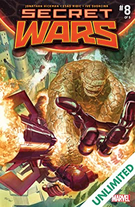 Secret Wars (2015-2016) #8 (of 9)
