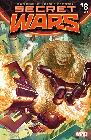 Secret Wars (2015-2016) No.8 (sur 9)