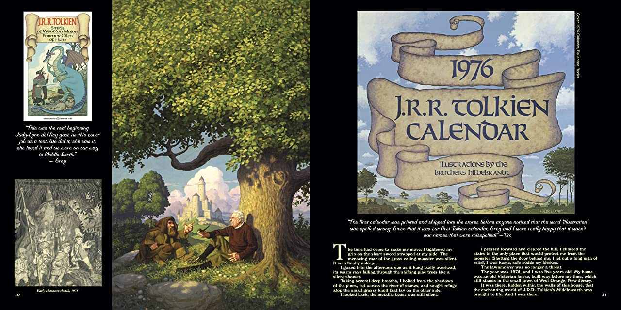 The Tolkien Years of the Brothers Hildebrandt