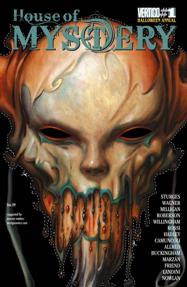 House of Mystery (2008-2011) #1: Halloween Annual