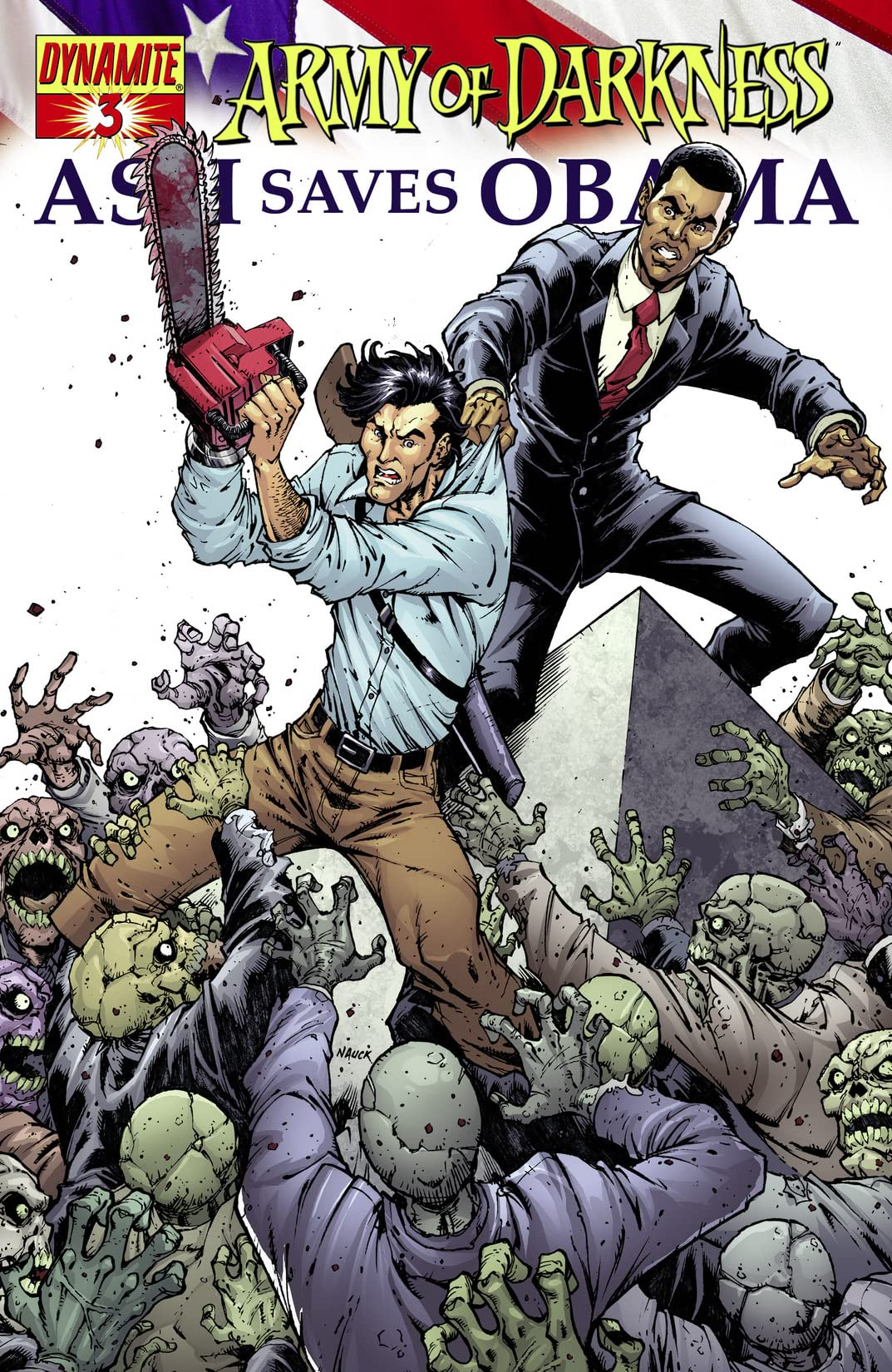 Army Of Darkness: Ash Saves Obama #3