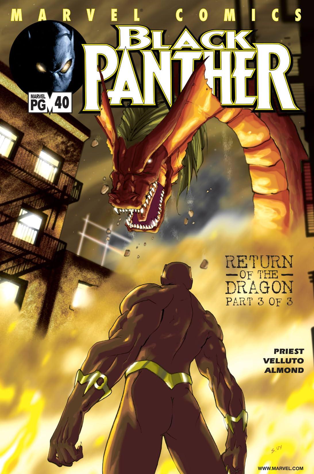 Black Panther (1998-2003) #40