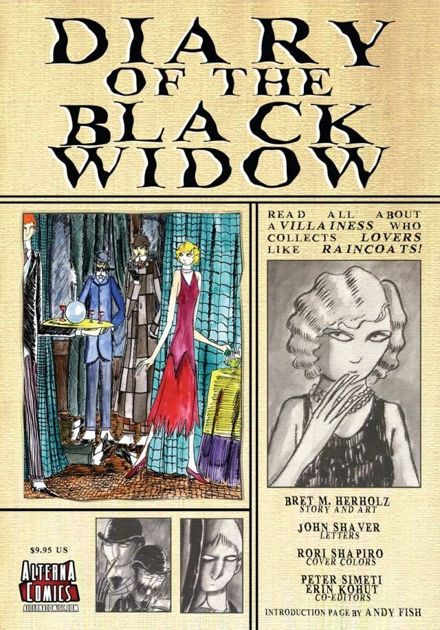 Diary of the Black Widow: Preview