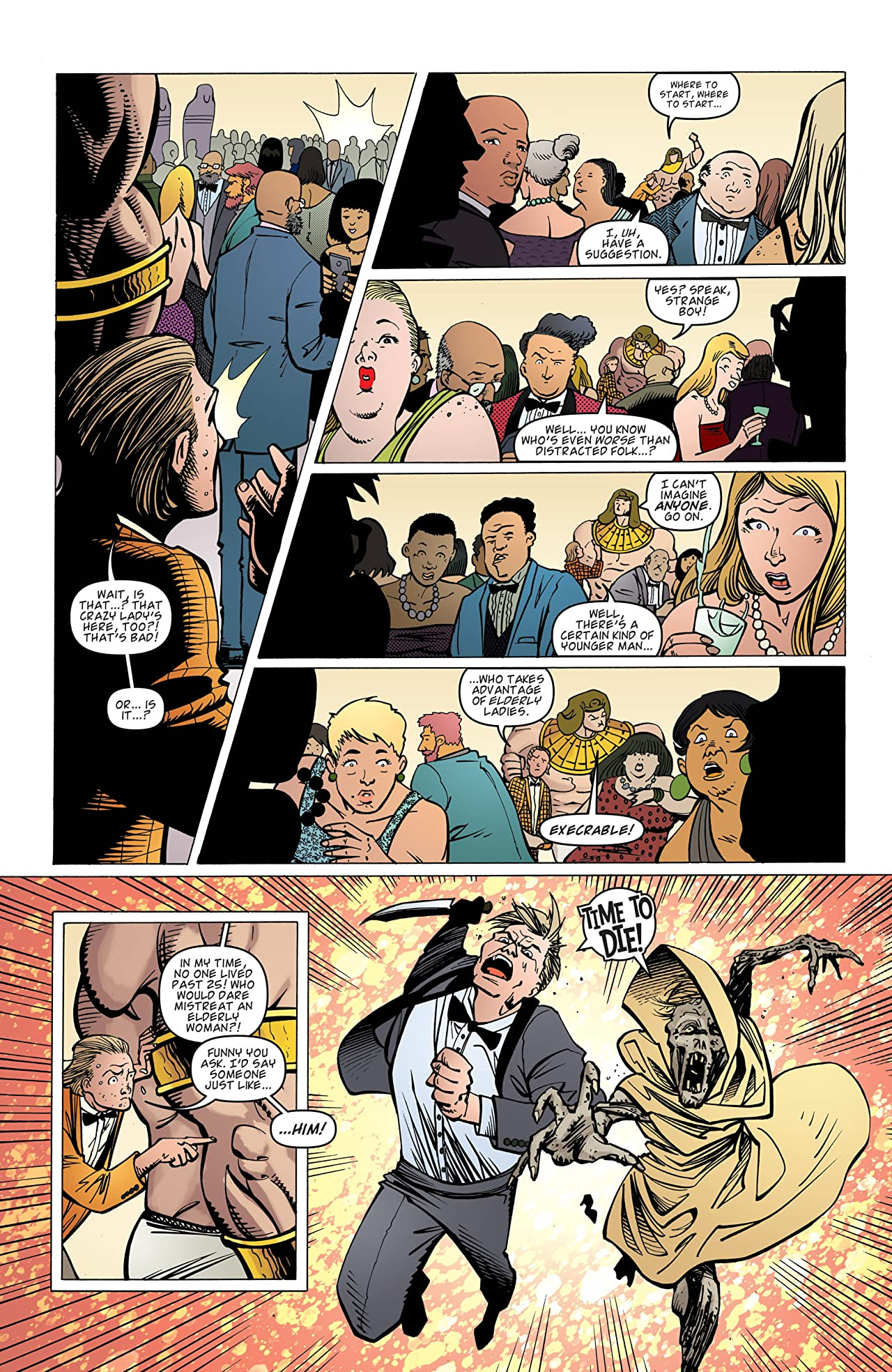 Dirk Gently's Holistic Detective Agency #5 (of 5)