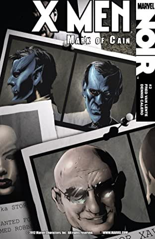 X-Men Noir: Mark of Cain #3 (of 4)