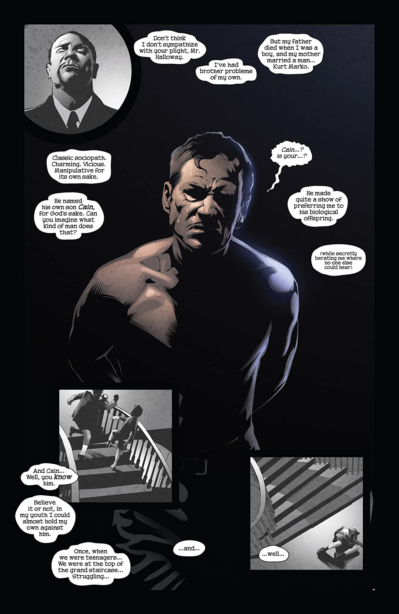 X-Men Noir: Mark of Cain #3 (of 4)