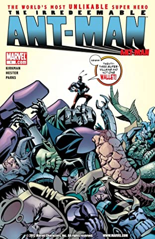 Irredeemable Ant-Man No.1