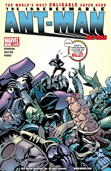 Irredeemable Ant-Man #1