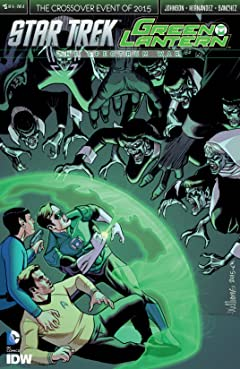 Star Trek/Green Lantern No.5 (sur 6)