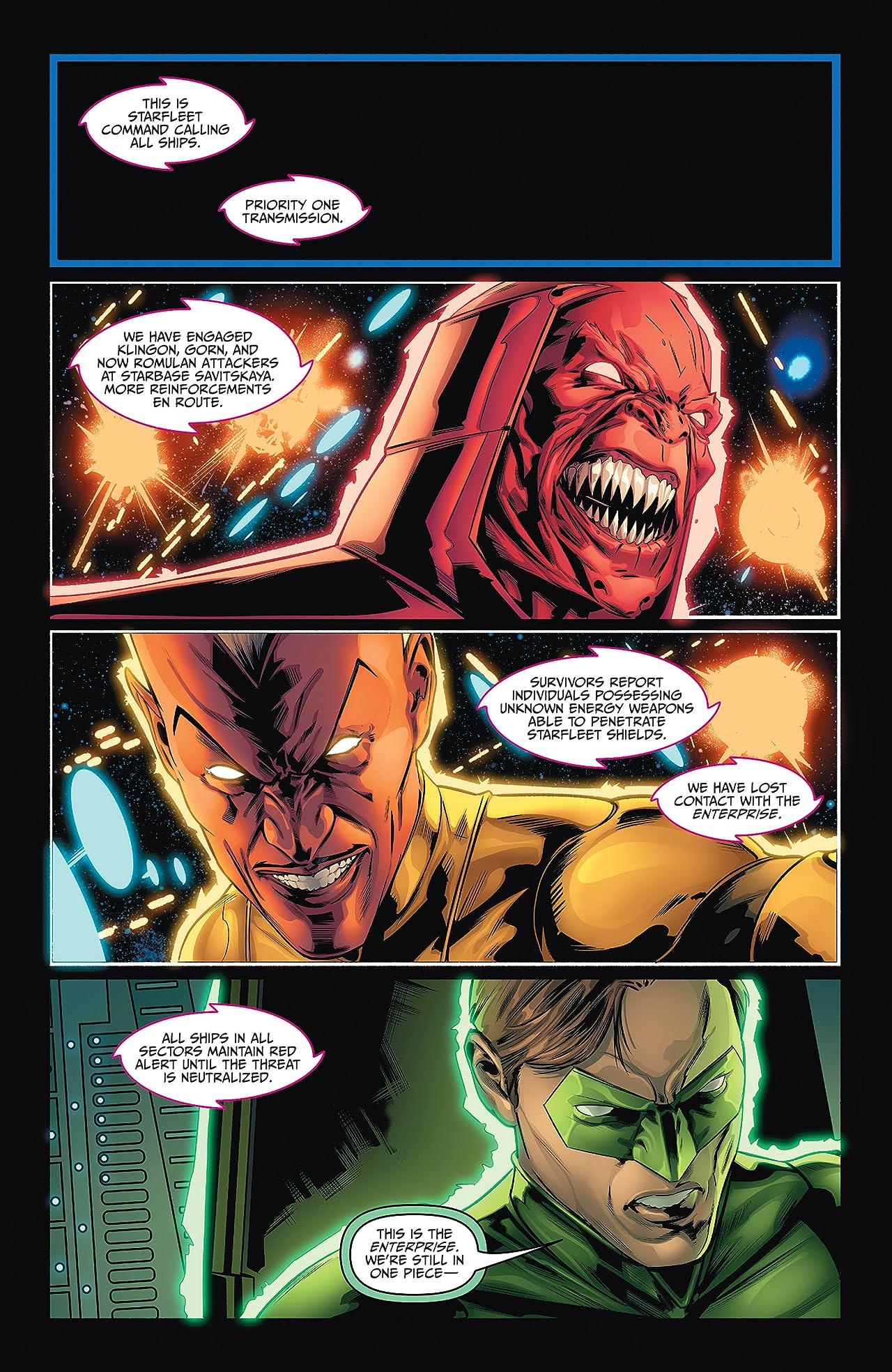 Star Trek/Green Lantern #5 (of 6)