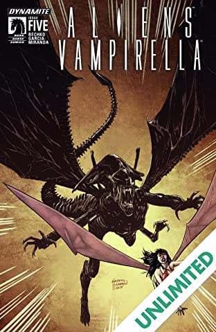 Aliens/Vampirella #5: Digital Exclusive Edition