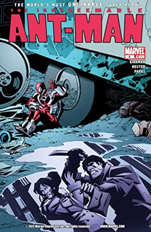 Irredeemable Ant-Man No.6