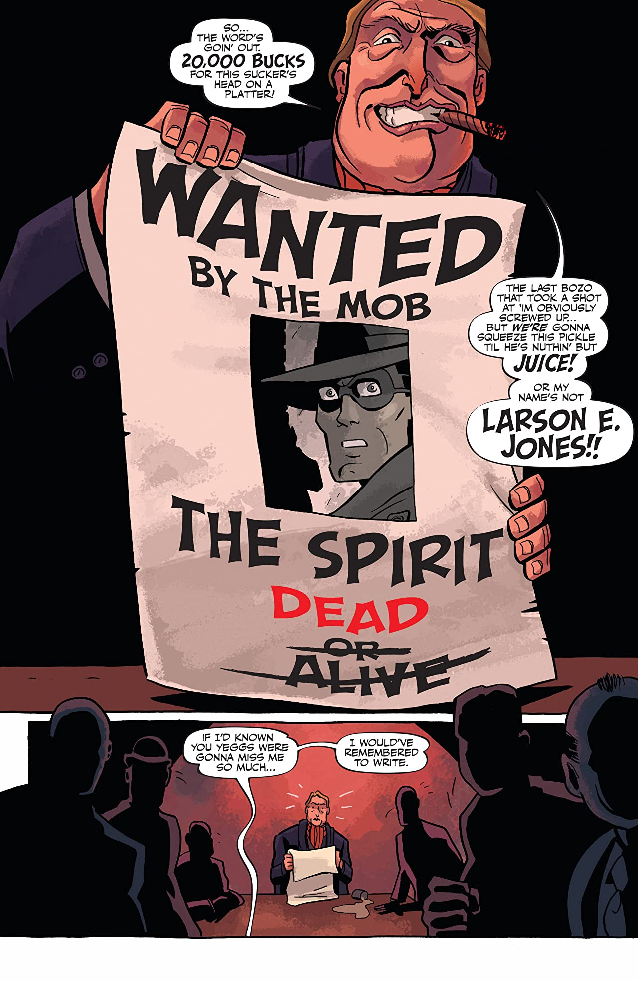 Will Eisner's The Spirit #7: Digital Exclusive Edition