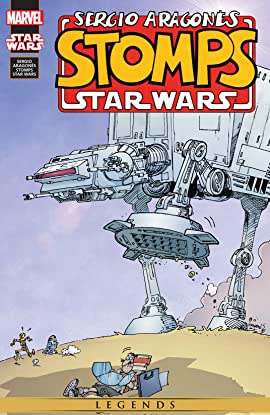 Sergio Aragonés Stomps Star Wars (2000)