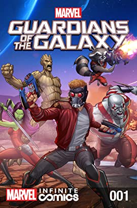 Marvel Universe Guardians of the Galaxy Infinite Comic #1