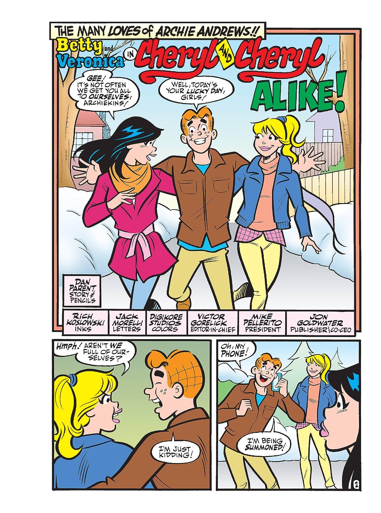 Betty & Veronica Comics Double Digest #240