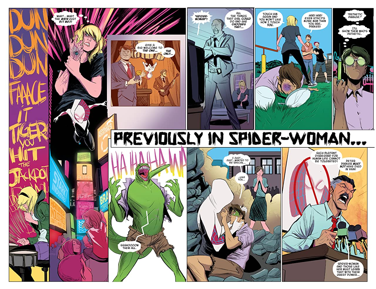 Spider-Gwen Tome 0 : Most Wanted?