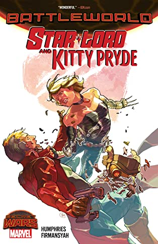Star-Lord and Kitty Pryde