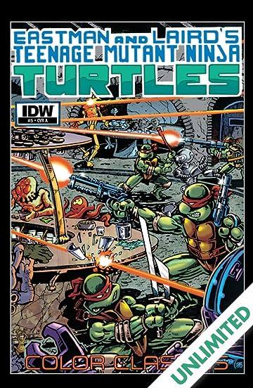 teenage mutant ninja turtles color classics 5 comics by comixology