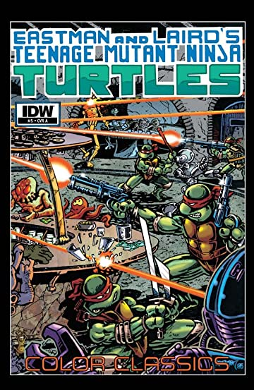 Teenage Mutant Ninja Turtles: Color Classics #5
