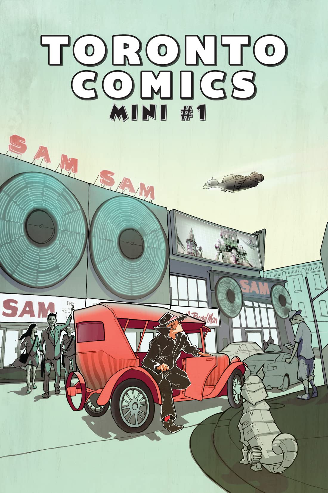 Toronto Comics Mini Vol. 1