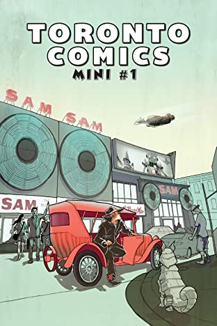 Toronto Comics Mini Tome 1
