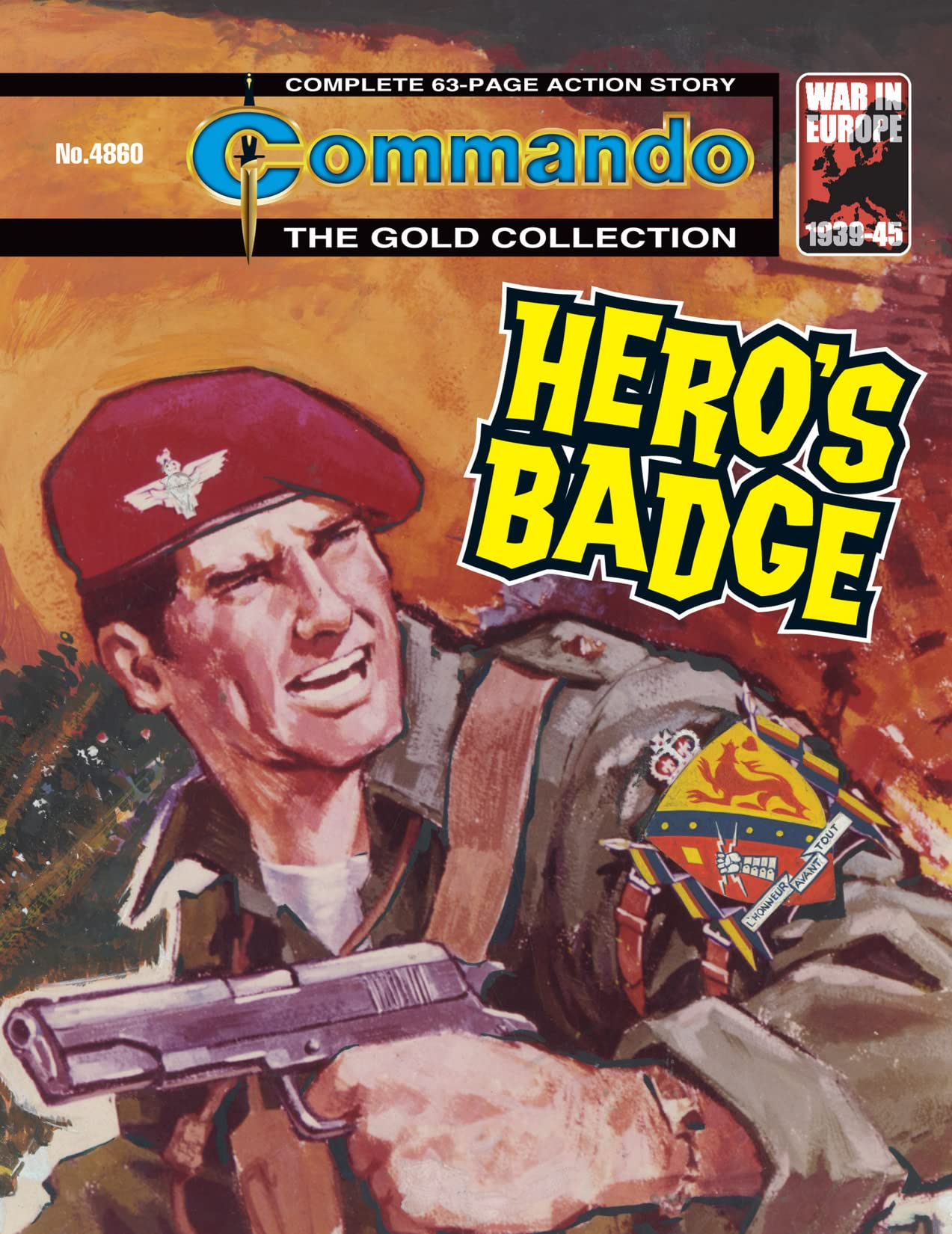Commando #4860: Hero's Badge