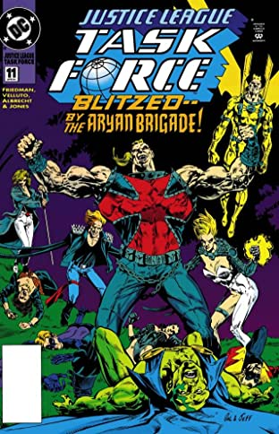 Justice League Task Force (1993-1996) No.11
