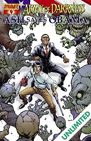 Army Of Darkness: Ash Saves Obama #4