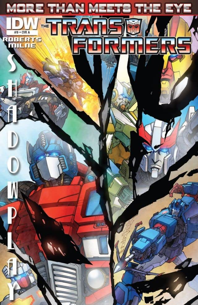 Transformers: More Than Meets the Eye (2011-) #9