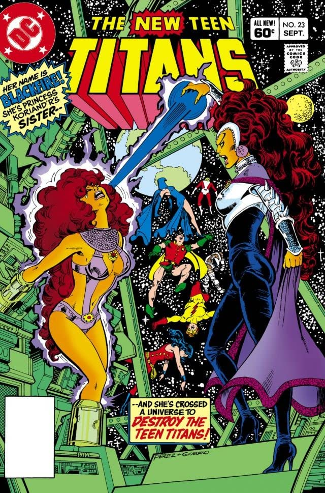 New Teen Titans (1980-1988) #23
