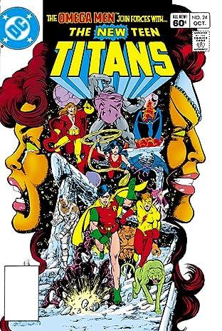 New Teen Titans (1980-1988) #24