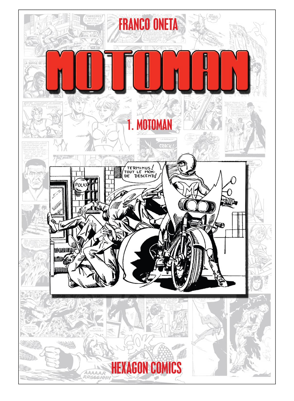 MOTOMAN Vol. 1: Motoman