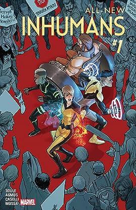 All-New Inhumans (2015-2016) #1