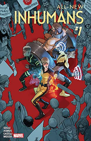 All-New Inhumans (2015-2016) #1