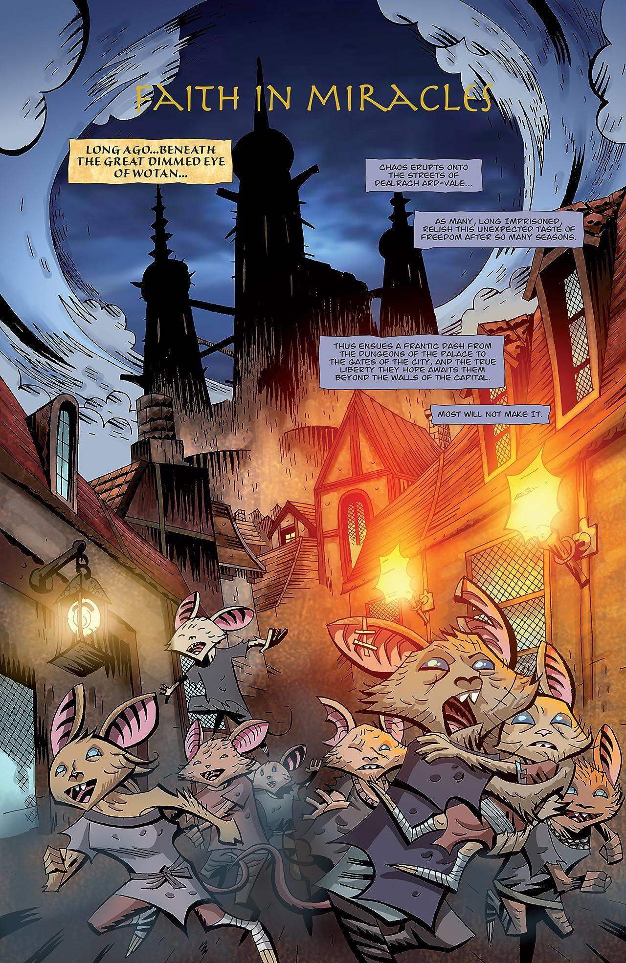 The Mice Templar Vol. 3: A Midwinter Night's Dream