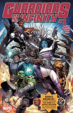 Guardians of Infinity (2015-2016) No.1